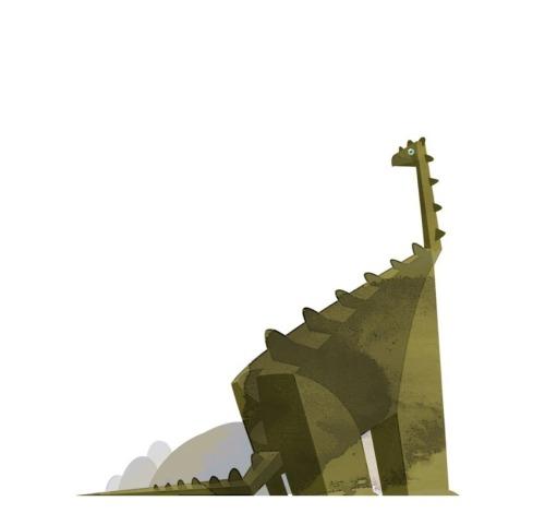 Blockosaur